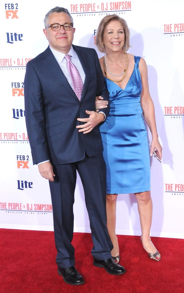 Jeffrey Toobin and his wife, Amy Bennett McIntosh