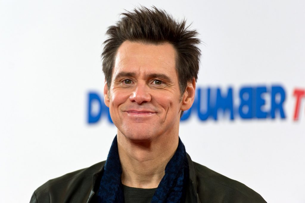 Jim Carrey at a photocall