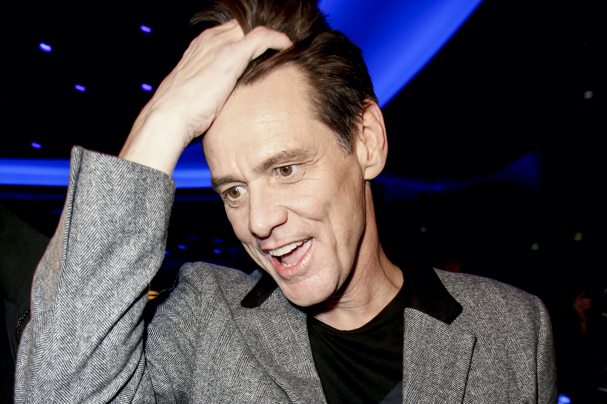 Jim Carrey at the 'Sonic the Hedgehog'  premiere
