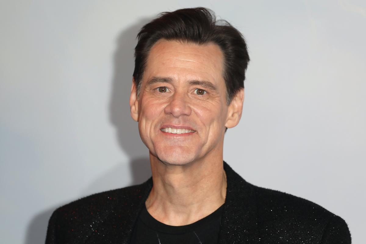 Jim Carrey at a 'Sonic The Hedgehog' gala screening