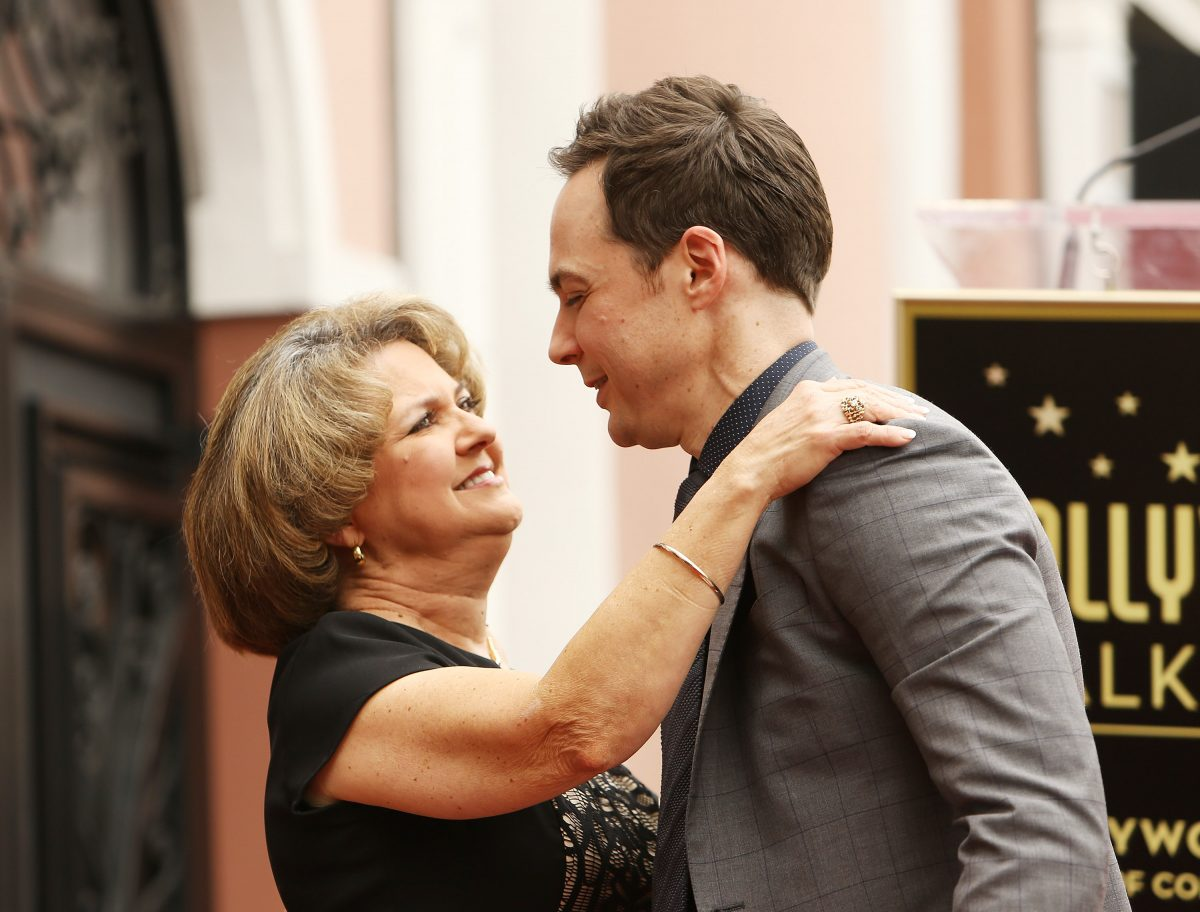 Jim Parsons and Judy Parsons