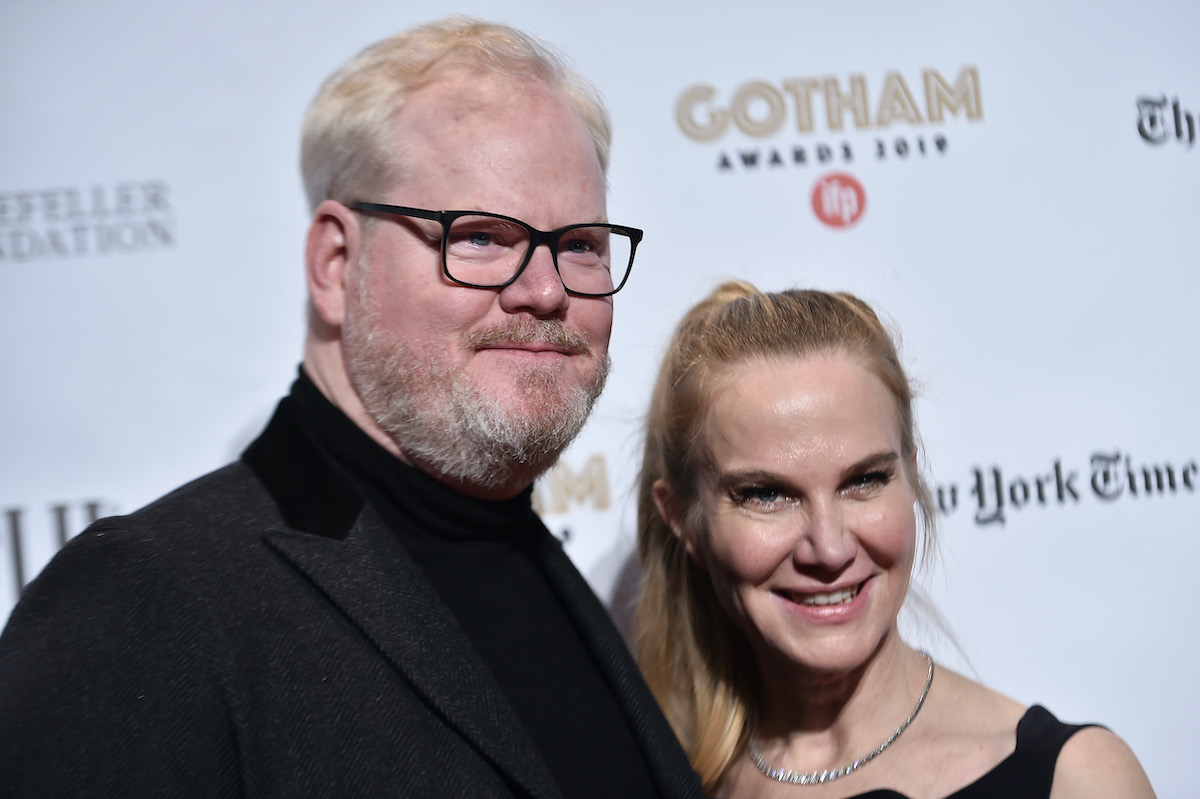 Jim Gaffigan and Jeannie Gaffigan