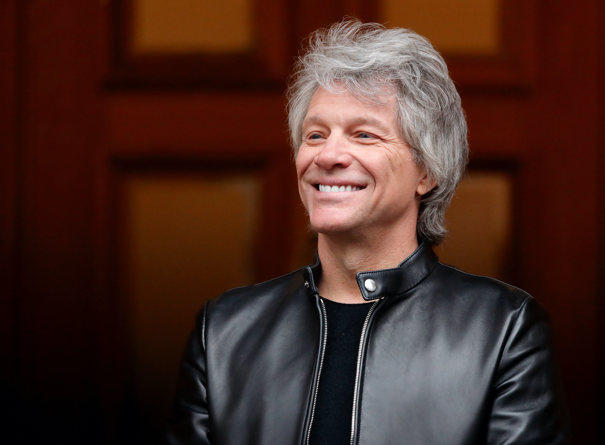 Jon Bon Jovi at the Abbey Road Studios