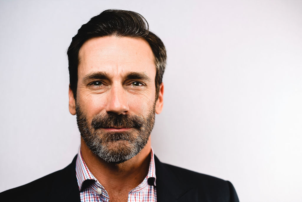 Jon Hamm in a portrait for Baby Driver
