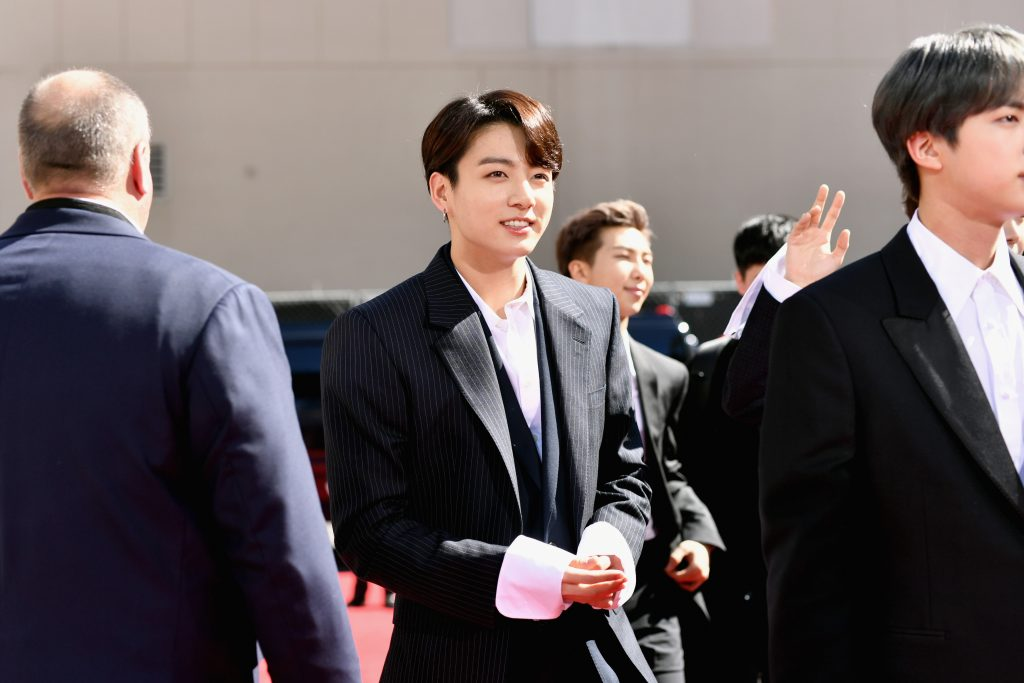 Jungkook of BTS attends the 2019 Billboard Music Awards at MGM Grand Garden Arena
