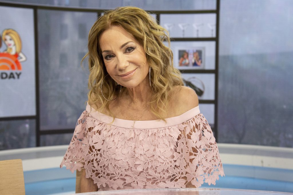 Kathie Lee Gifford smiling at the camera