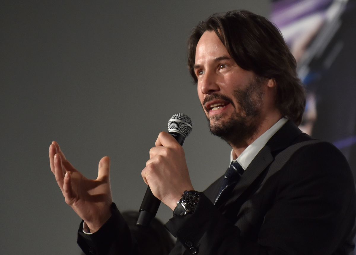 Keanu Reeves at the Japanese premiere of 'John Wick Chapter 2'