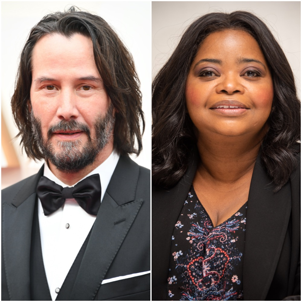 Keanu Reeves and Octavia Spencer