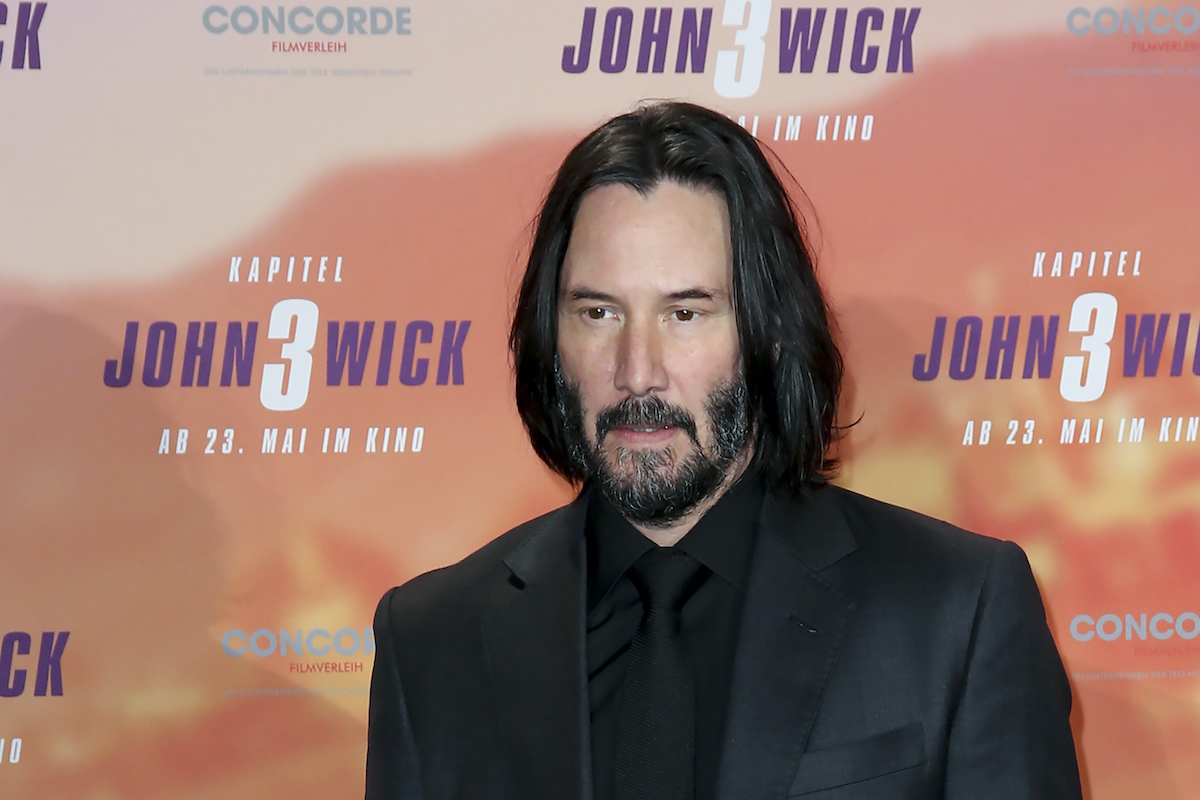 Keanu Reeves at the 'John Wick: Chapter 3 -- Parabellum' photocall