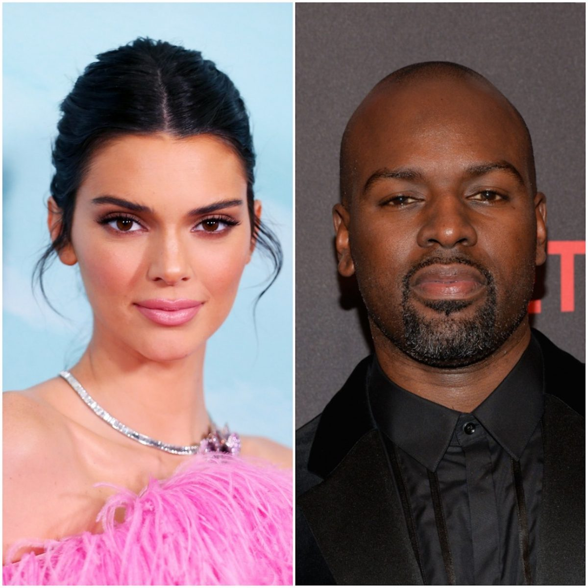 Kendall Jenner and Corey Gamble