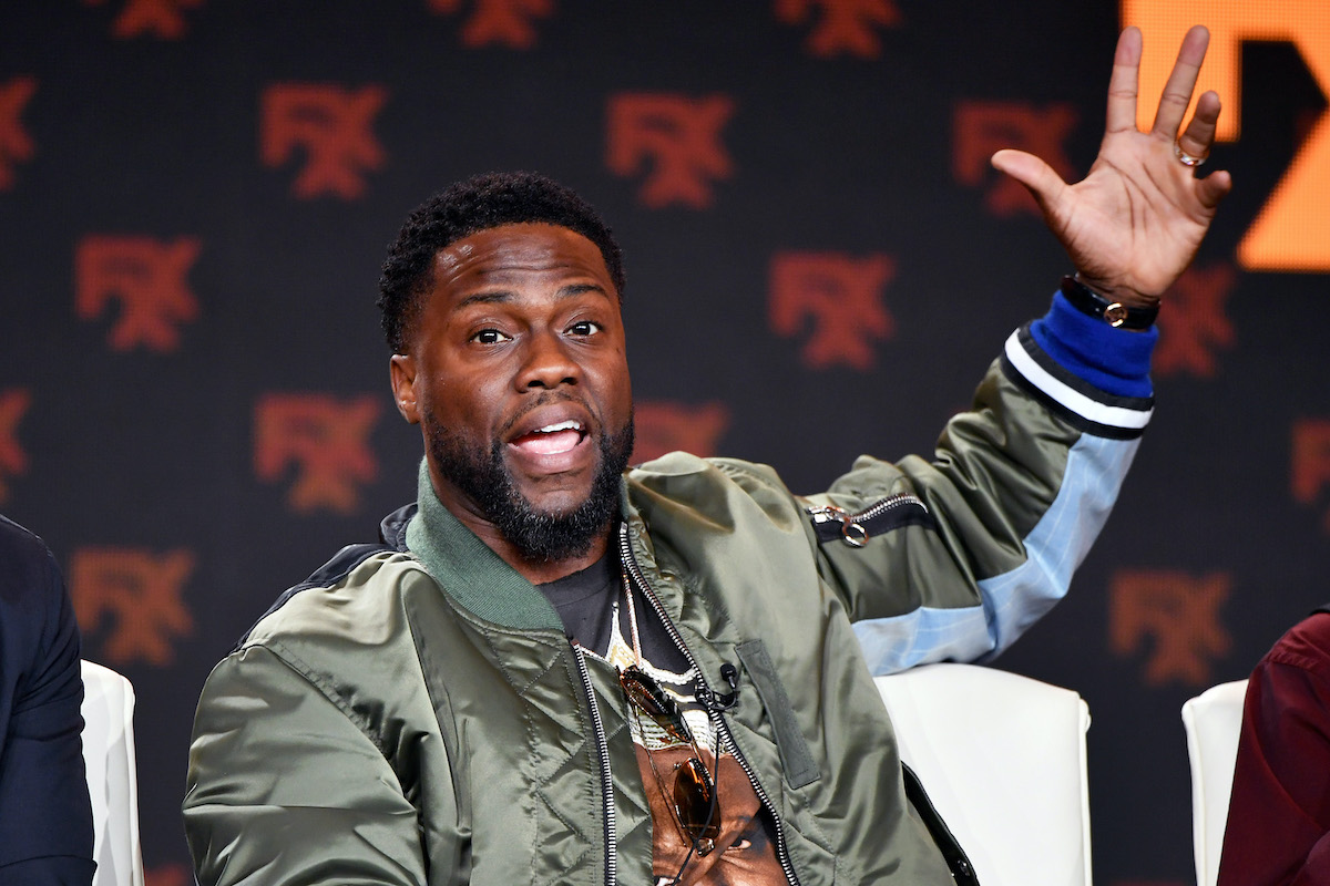 Kevin Hart at the 2020 Winter TCA Tour