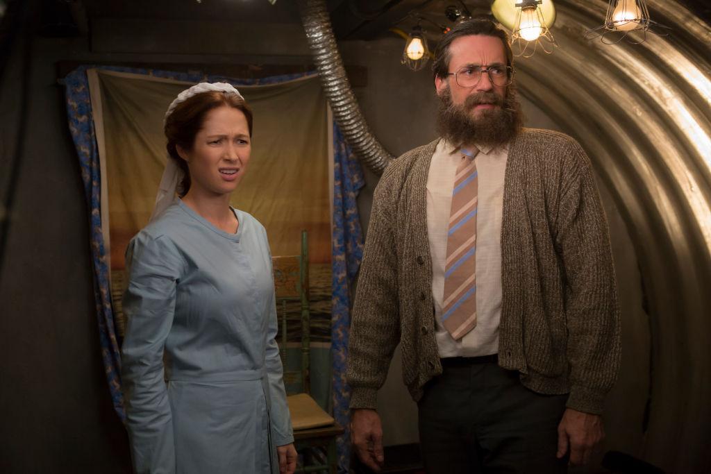 Unbreakable Kimmy Schmidt stars Ellie Kemper and Jon Hamm