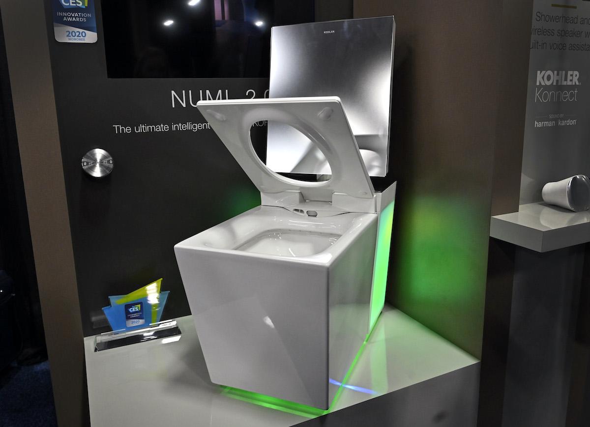 The Kohler Numi 2.0 smart toilet