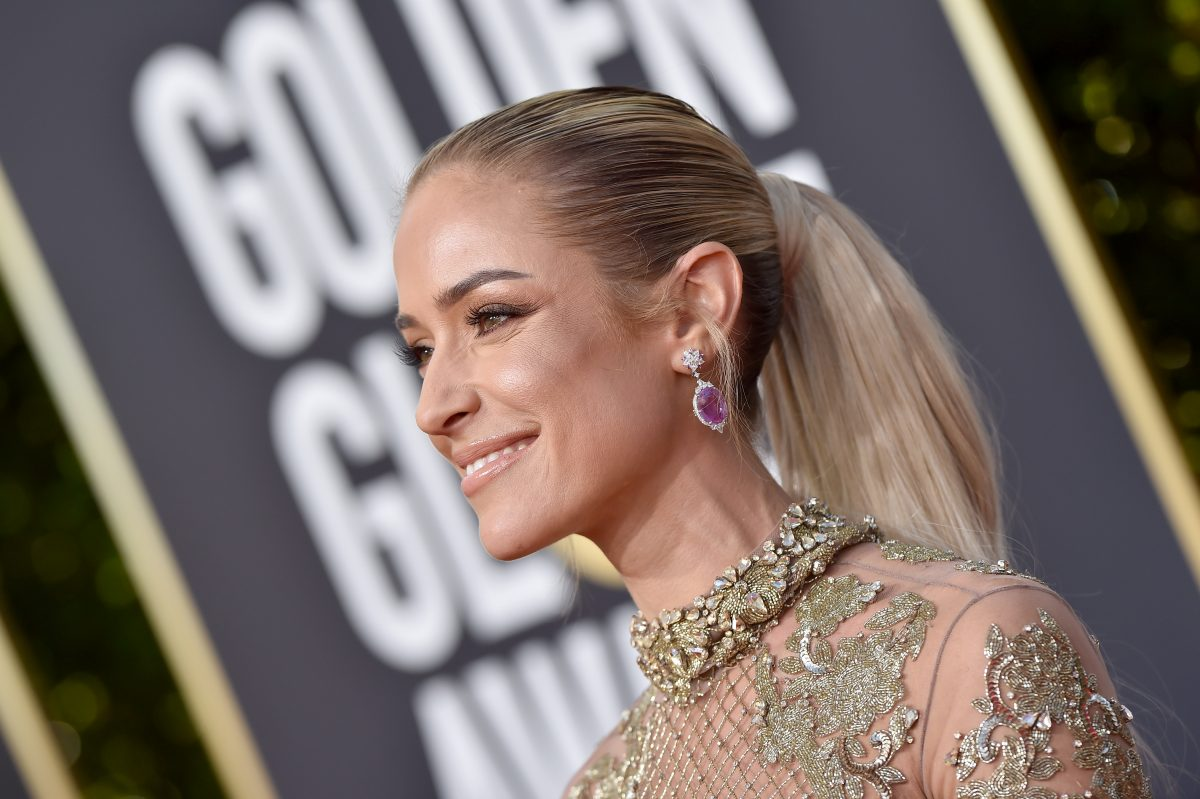 Kristin Cavallari attends the 76th Annual Golden Globe Awards at The Beverly Hilton Hotel