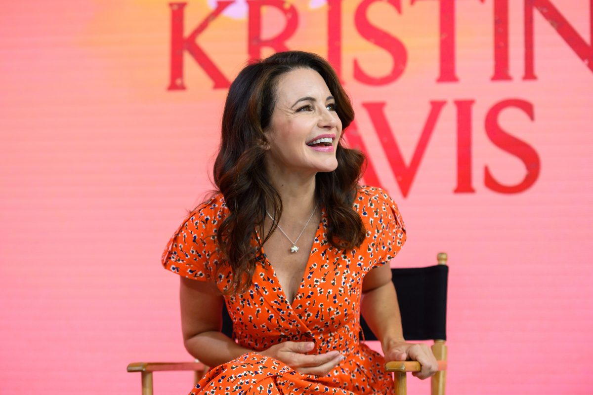 Kristin Davis sits down for an inteview with 'Today'
