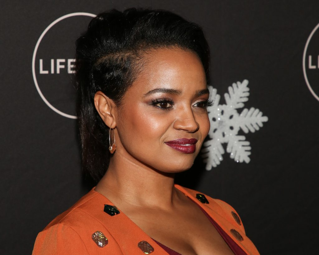 """Kyla Pratt attends the """"It's A Wonderful Lifetime"""" Holiday Party at STK Los Angeles on October 22, 2019 in Los Angeles, California"""