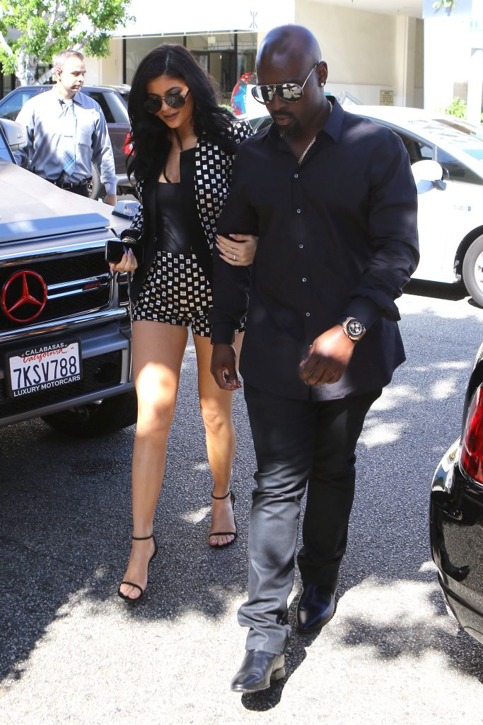 Kylie Jenner and Corey Gamble
