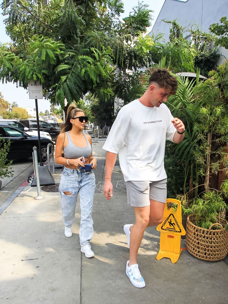 Larsa Pippen and Harry Jowsey
