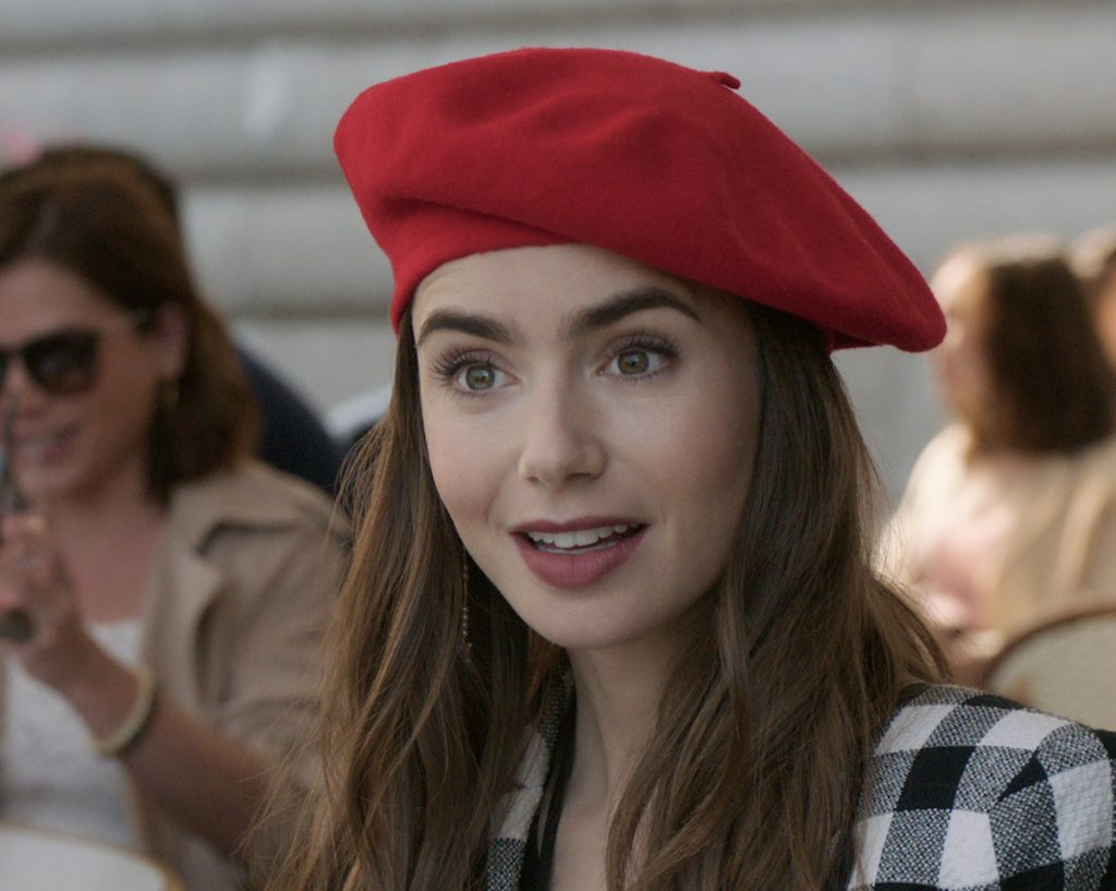Lily Collins as Emily in 'Emily in Paris.'