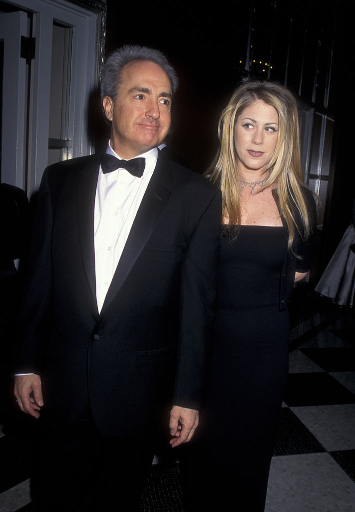 SNL creator Lorne Michaels and wife
