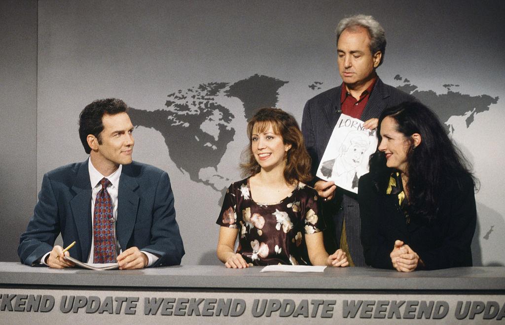 Saturday Night Live cast 1995