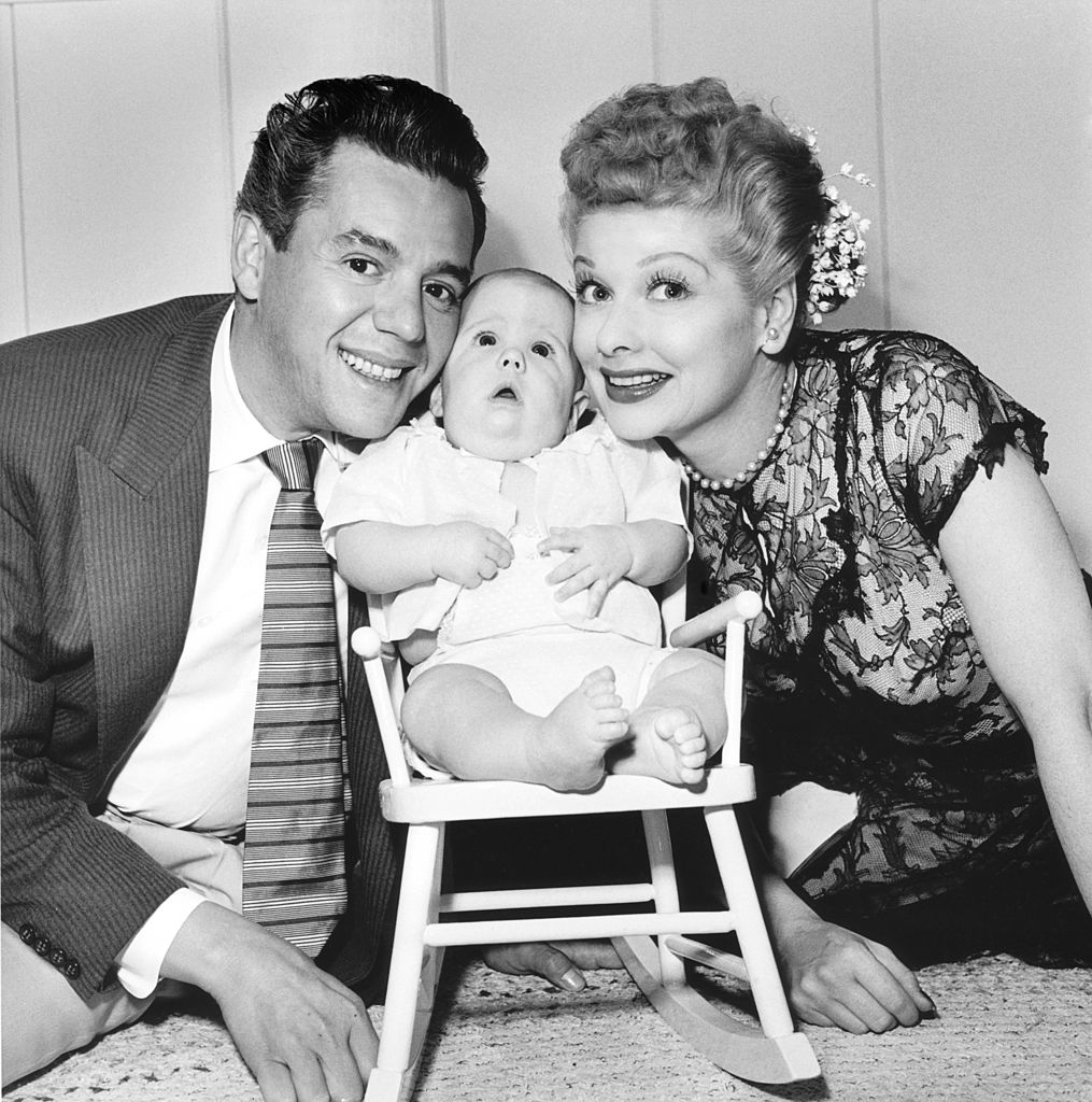 I Love Lucy stars Desi Arnaz and Lucille Ball