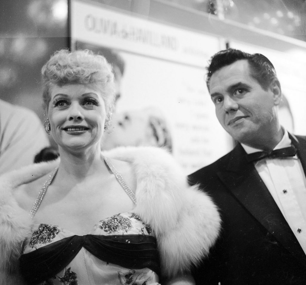 Lucille Ball and Desi Arnaz of 'I Love Lucy'