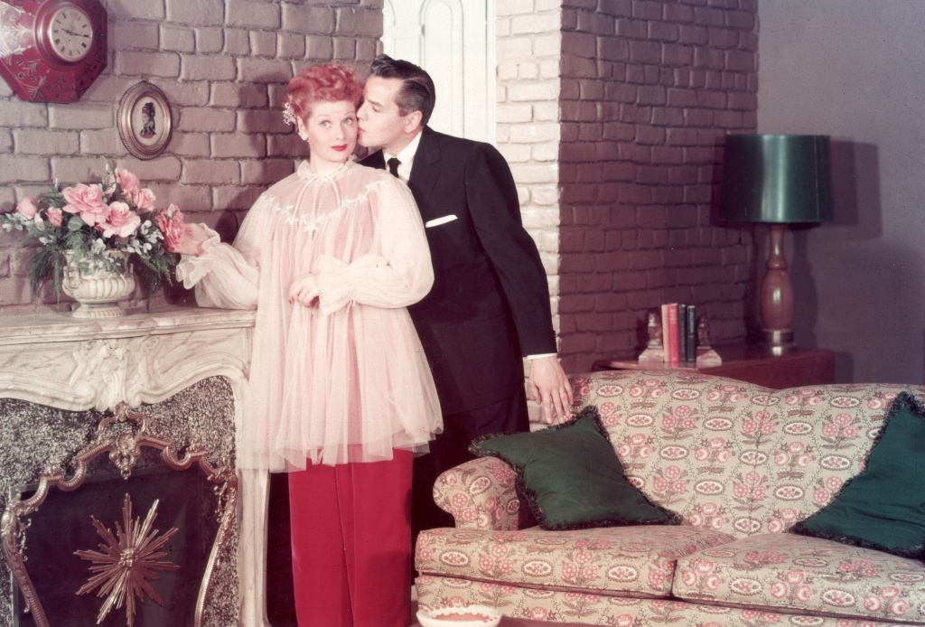I Love Lucy stars Lucille Ball and Desi Arnaz