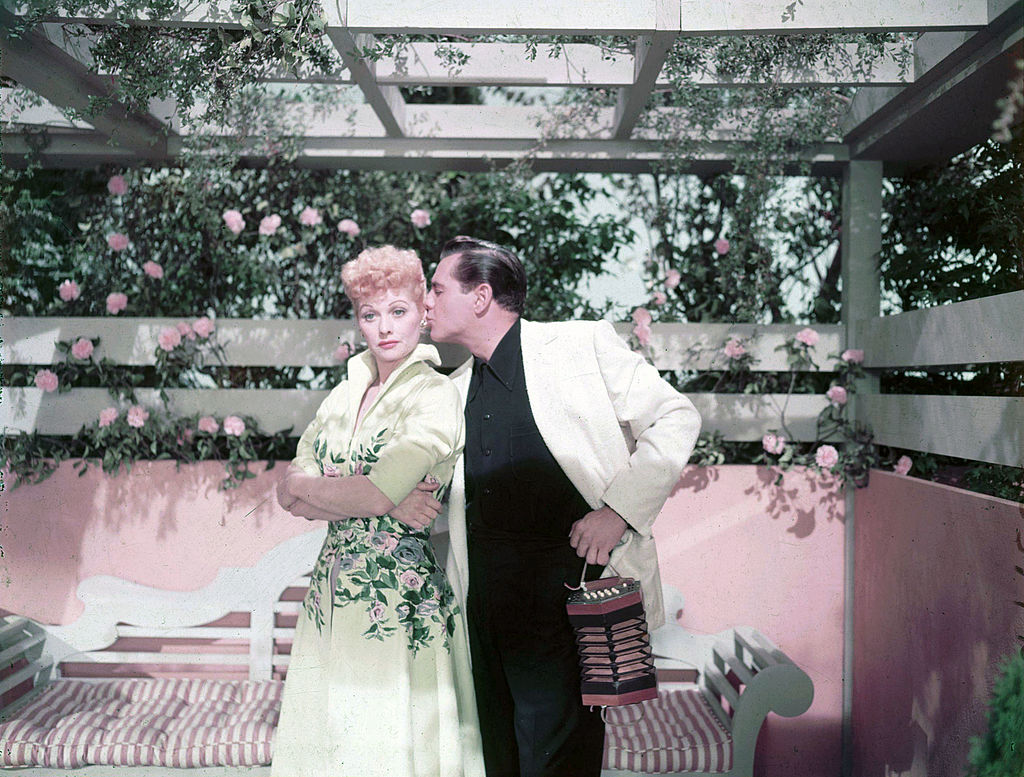 Lucille Ball and Desi Arnaz of I Love Lucy