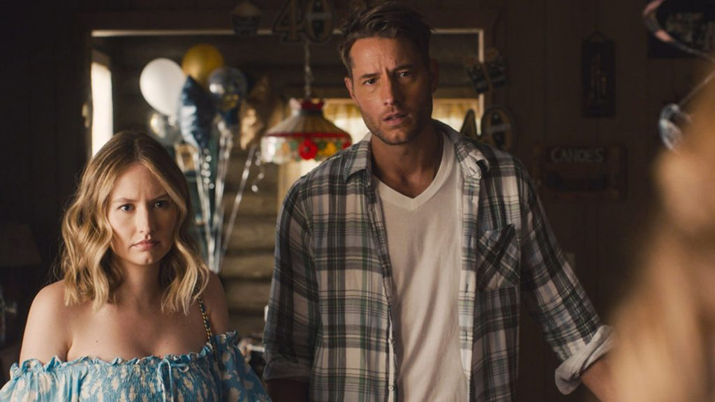 Caitlin Thompson as Madison, Justin Hartley as Kevin on 'This Is Us' Season 5 premiere 2020
