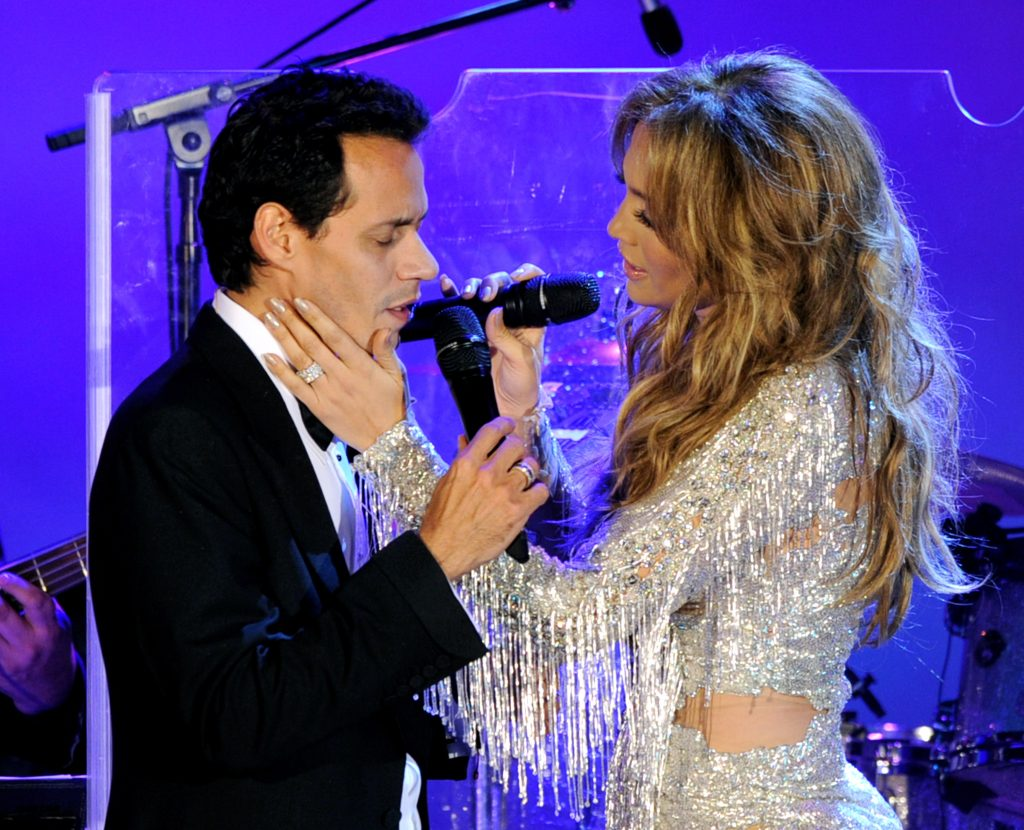 Marc Anthony and Jennifer Lopez in 2010 |  Kevin Winter/Getty Images