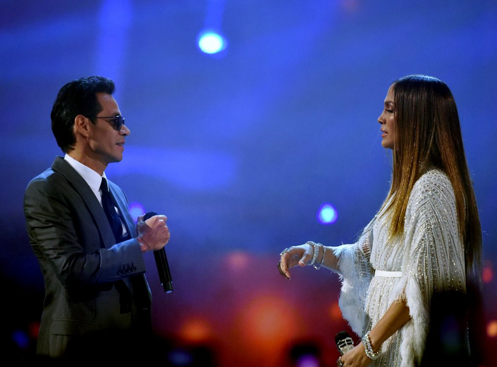 Marc Anthony and Jennifer Lopez in 2016 | Kevin Winter/WireImage