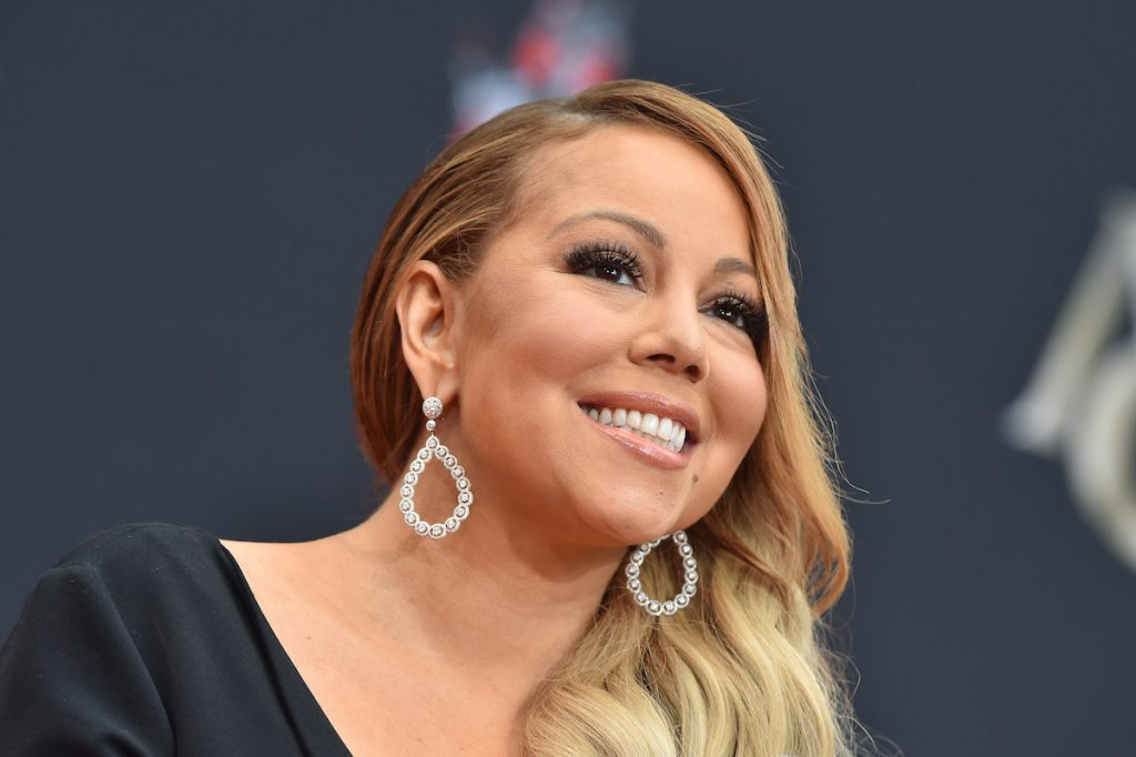 Mariah Carey is honored with a Hollywood Star.