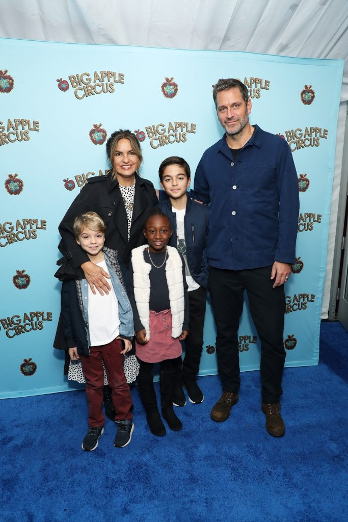 Mariska Hargitay, Peter Hermann and their family