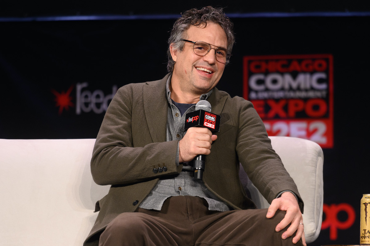 Mark Ruffalo at Chicago Comic & Entertainment Expo