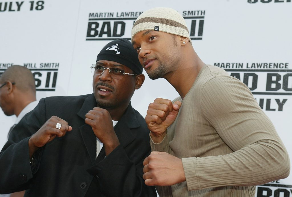 'Bad Boys' stars Martin Lawrence and Will Smith