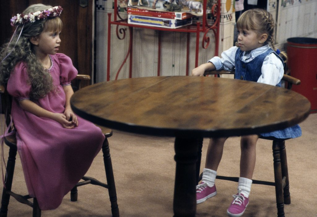 Mary-Kate and Ashley Olsen in 'Full House'