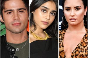 Max Ehrich Faces Backlash for Sharing Photo of 'American Idol's Sonika Vaid Following Demi Lovato Split