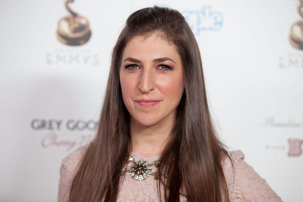 Mayim Bialik attends The Academy Of Television Arts & Sciences Performer Nominees' 64th Primetime Emmy Awards Reception