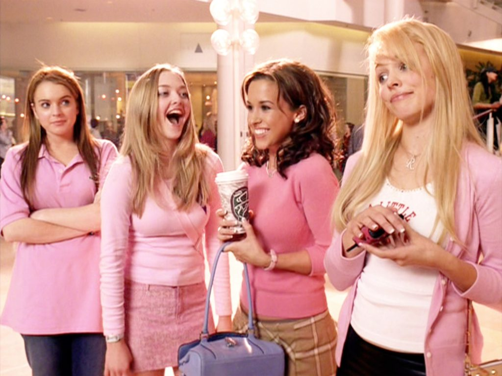 The movie 'Mean Girls,' directed by Mark Waters
