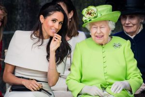 New Book Reveals Harsh  Details of the Queen's Feud With Meghan Markle Over Wedding Tiara