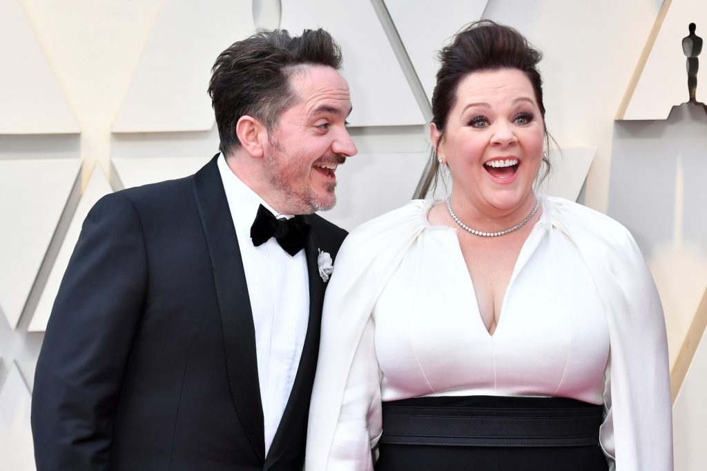 Ben Falcone and Melissa McCarthy attends the 91st Annual Academy Awards