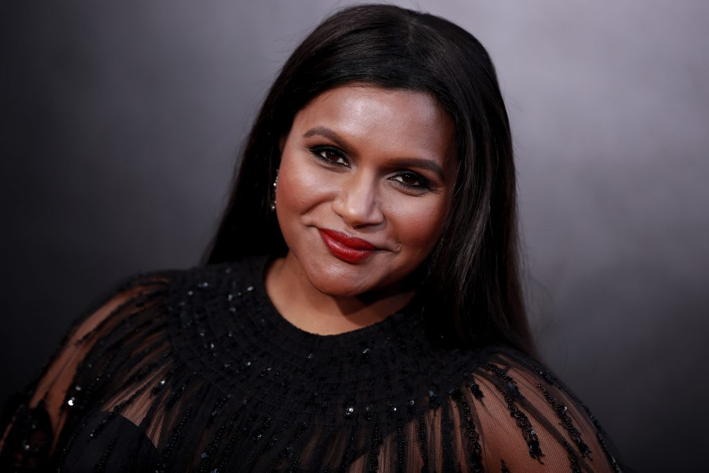 Mindy Kaling attends the premiere of Amazon Studio's 'Late Night' at The Orpheum Theatre on May 30, 2019