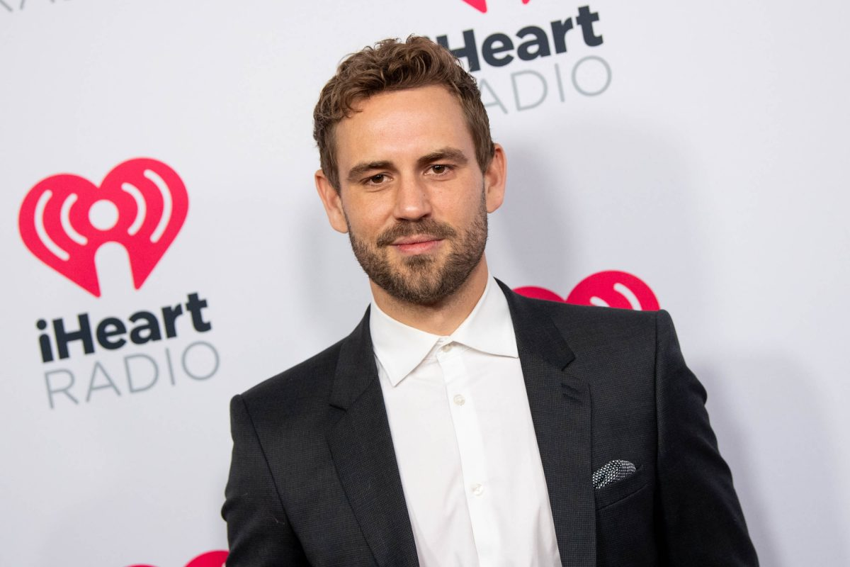 Nick Viall at the 2020 iHeartRadio Podcast Awards
