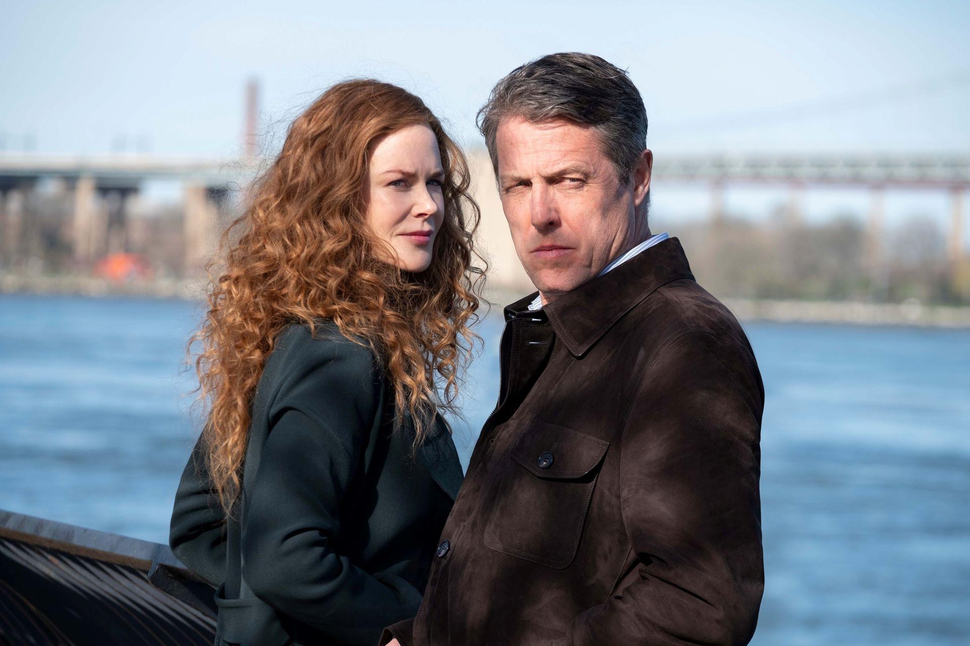 Nicole Kidman and Hugh Grant in 'The Undoing'