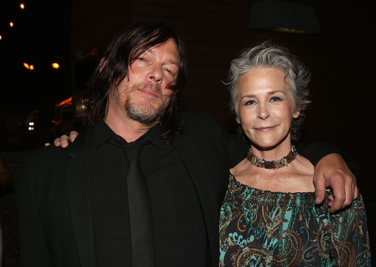 Norman Reedus and Melissa McBride of 'The Walking Dead'