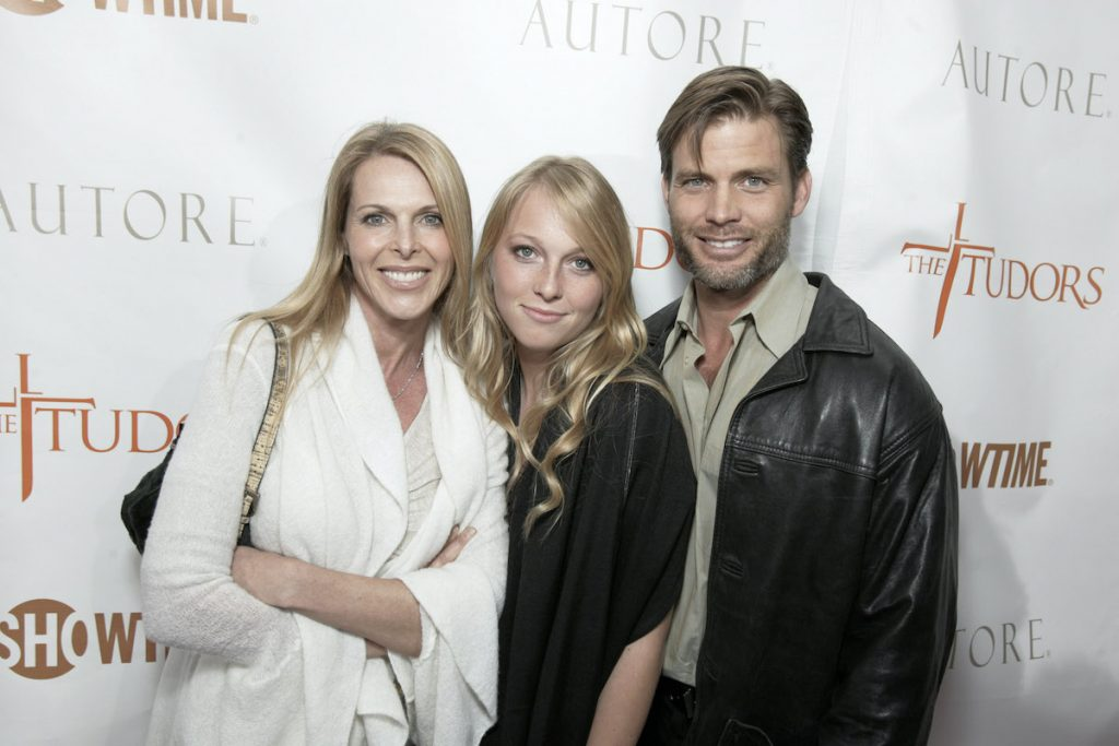 Catherine Oxenberg, India Oxenberg and Casper Van Dien | E. Charbonneau/WireImage for Showtime Networks
