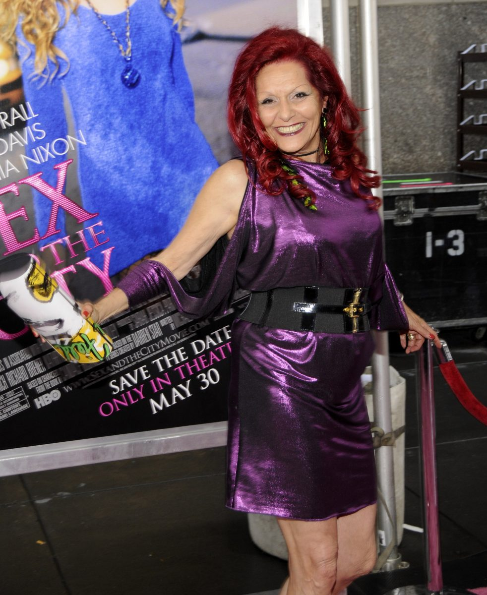 Patricia Field at the 'Sex and the City: The Movie' Premiere