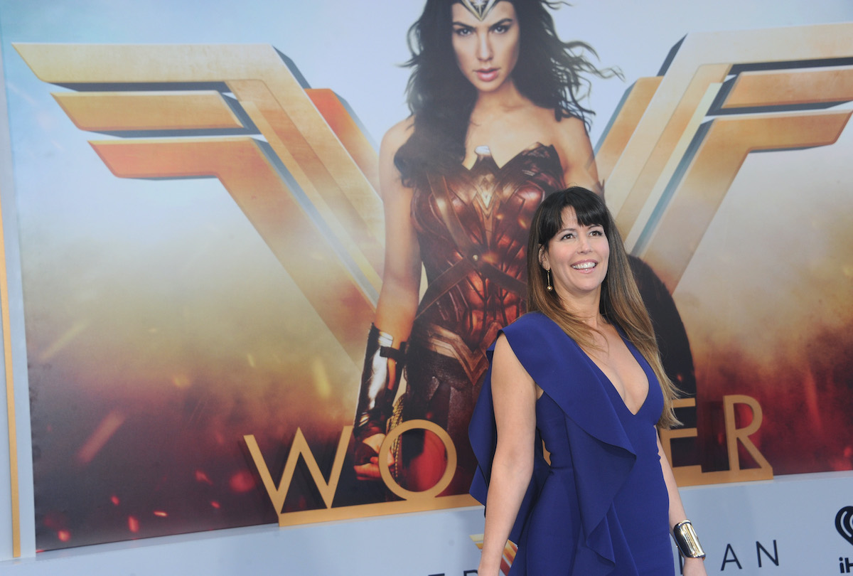 Director Patty Jenkins at the 'Wonder Woman' premiere