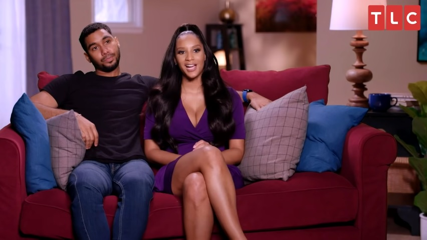 Pedro Jimeno and Chantel Everett on 'The Family Chantel'